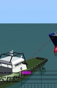 Tug boat animation