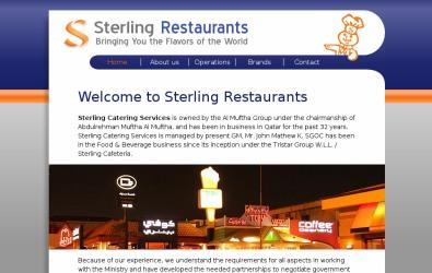 Restaurant company header design